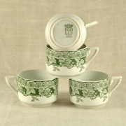 F 501 - 4 tasses à thé