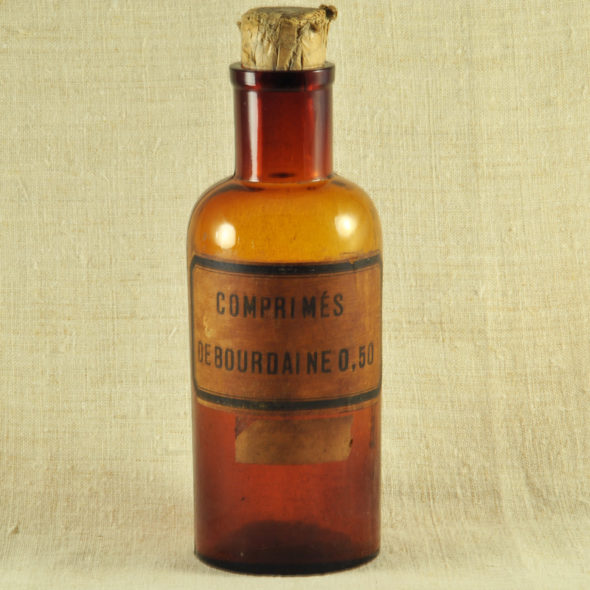 Flacon de pharmacie 1900 – D 191