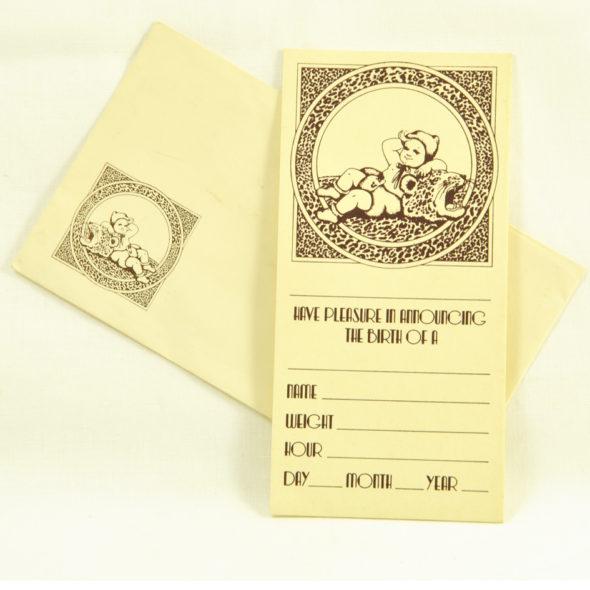 VT 221 – Carte «Biba» 1973