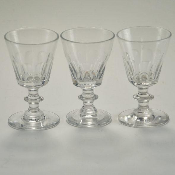 V 538 –  verres à porto en cristal
