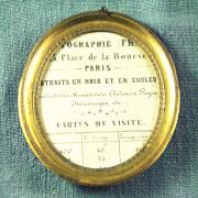 (Français) D 430 - petit cadre XIXe