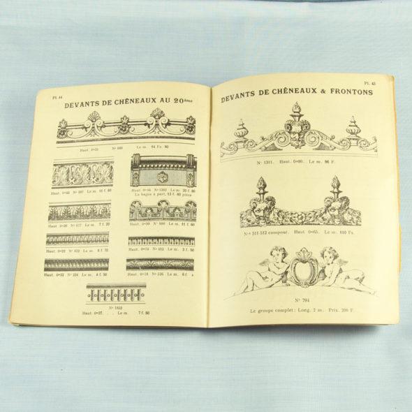 VP 43 – Catalogue  d'ornements 1930
