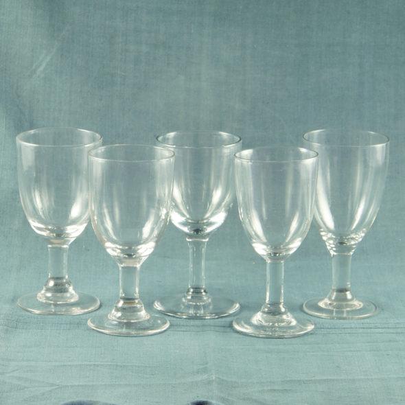 V 762 – 4  Grands verres XIXe
