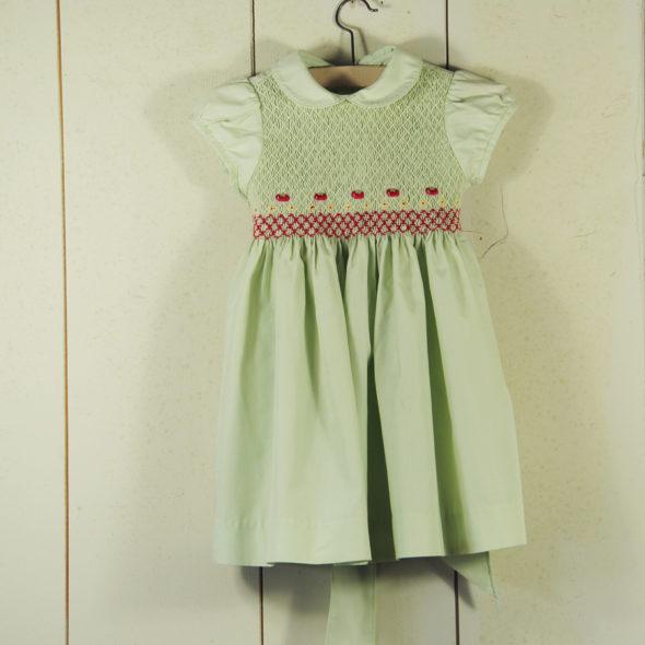 L 691 – Robe de fillette 1950