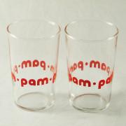 V 784 - 2 verres  1960