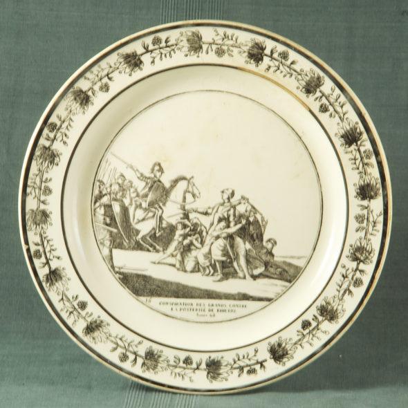 F 1793 – Assiette Choisy XIXe