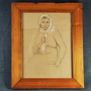 TA 70 - Portrait de Jeune- fille1920