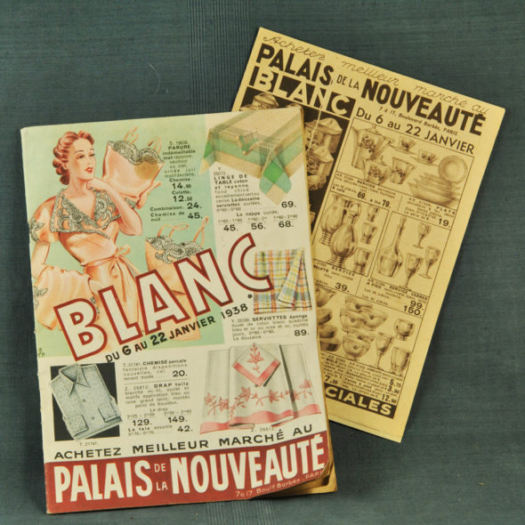 VP 49 – Catalogue de «Blanc» 1938