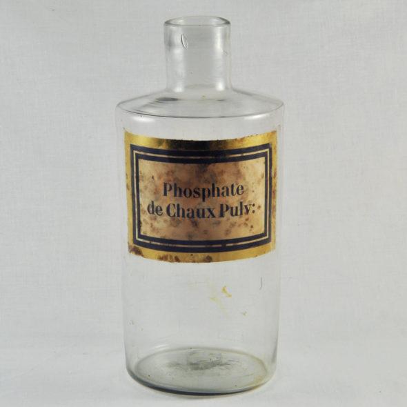 D 589 – Flacon d'apothicaire XIXe