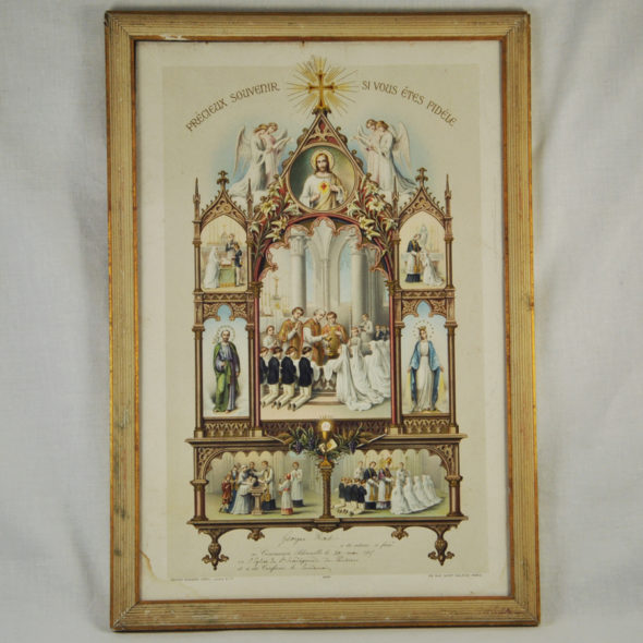 R 143 -Souvenir de Communion 1915