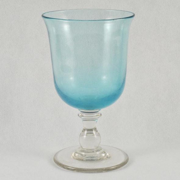 V 1034 -Très grand verre en cristal XIXe
