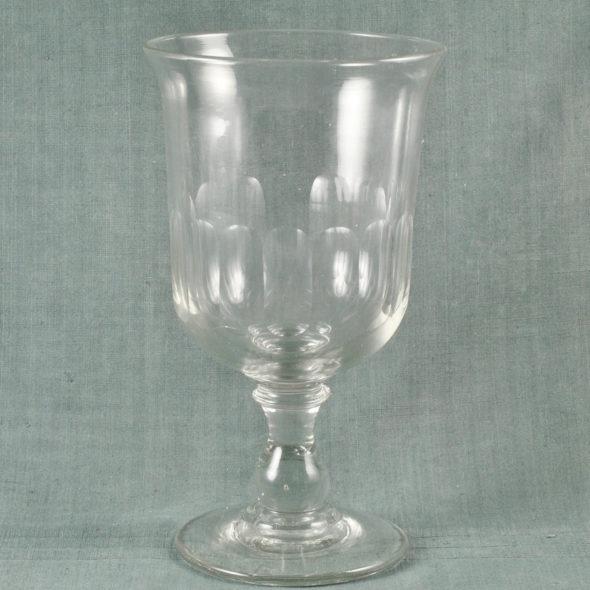 V 1046 -Très grand verre en cristal XIXe