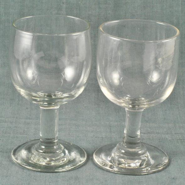 Grands verres ballon XIXe – V 1057