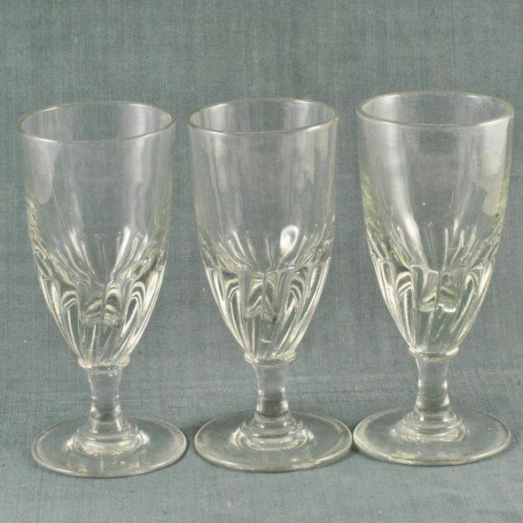 3 verres de bistrot 1900 – V 1063
