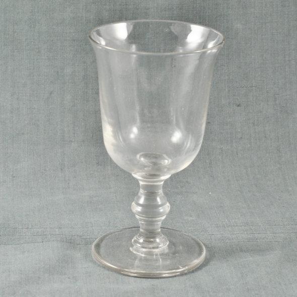 Grand verre à pied XIXe  – V 1082