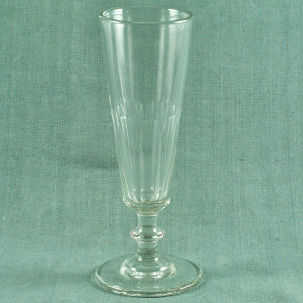 Flute en cristal XIXe – V 1103