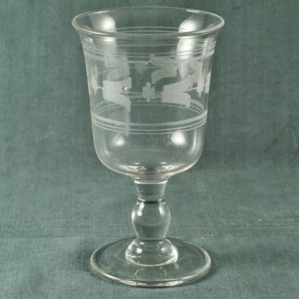 Grand verre XIXème – V 1136