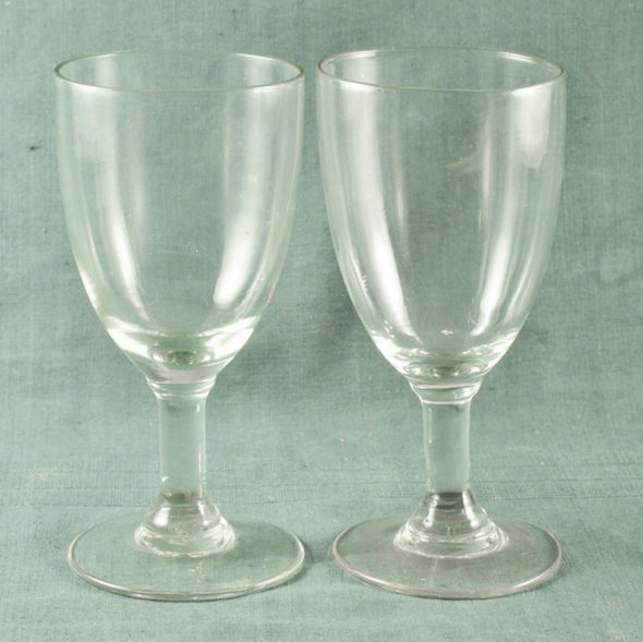 2 verres XIXème – V 1161