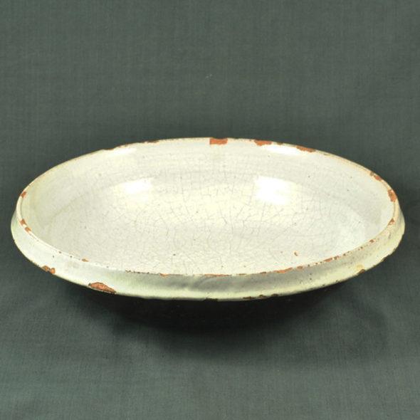 Grand plat «cul noir» XIXème – C 1059