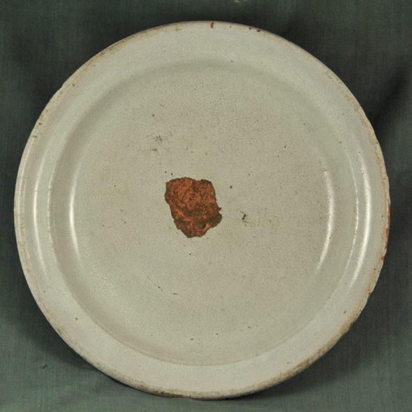 Grand plat XIXème «cul noir» – C 1080