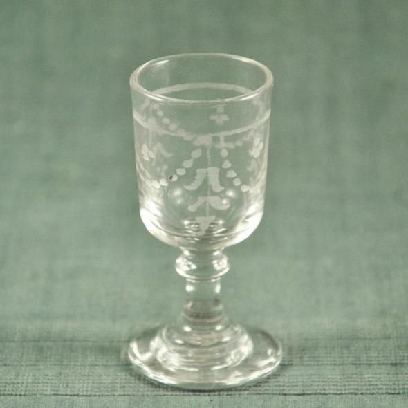 Verre XIXème à alcool – V 1208