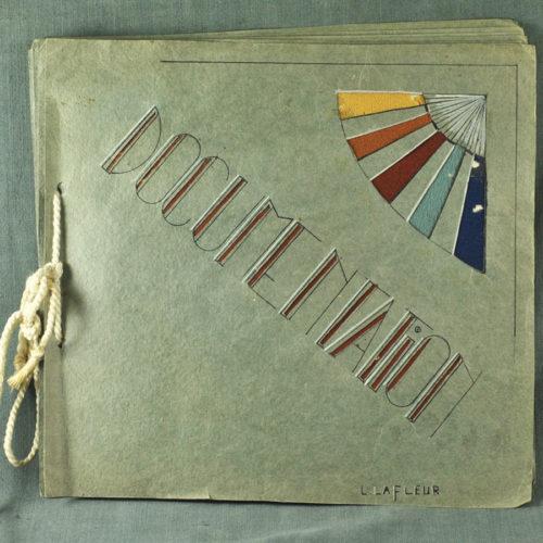 Cahier d'ouvrage de couture 1930 MER-328