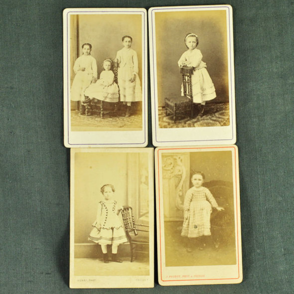 4 photos 1900 – VP 56