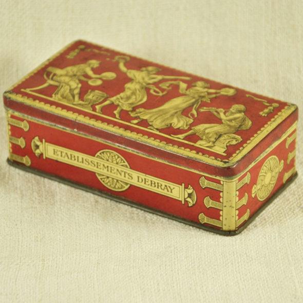 Boite 1900 biscuits  Debray – D 1051