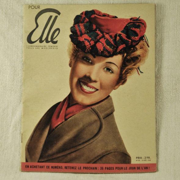Journal  pour ELLE 25 Décembre 1940 – VP 62