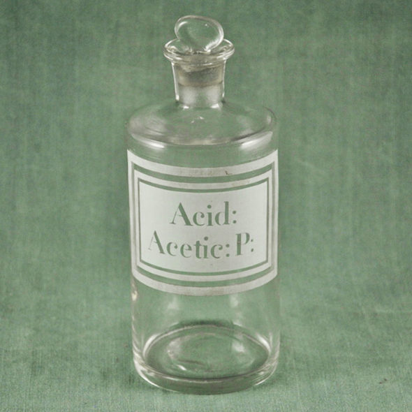 Flacon d'apothicaire XIXème – D 1089