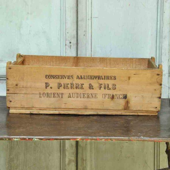 Caisse de conserverie 1930 – D 1130