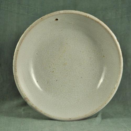 Petit plat XIXème cul noir C-1344